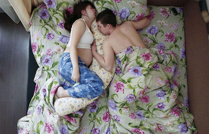Домашнее видео молодой пары