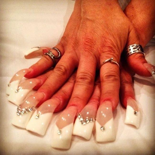 Фото нарощенные ногти для девушки