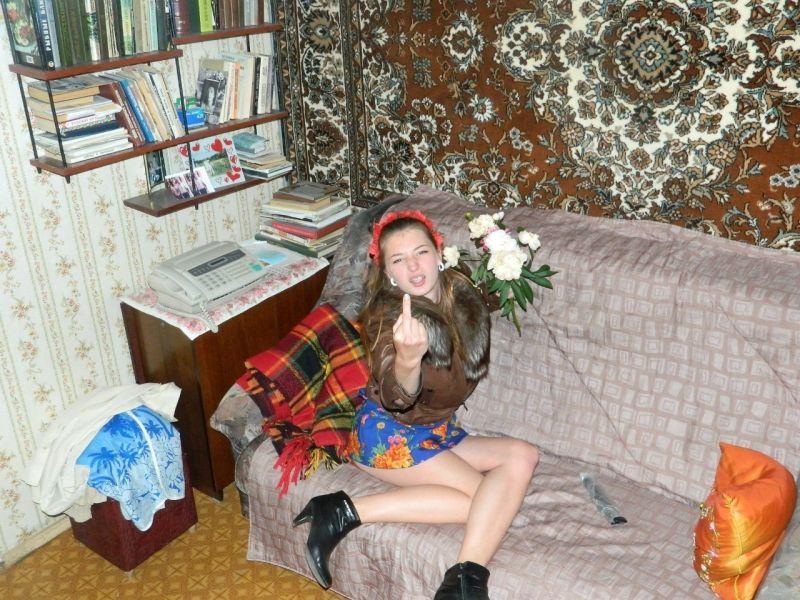Скрытые фотки из соц. сети одной 19-ти летней девушки