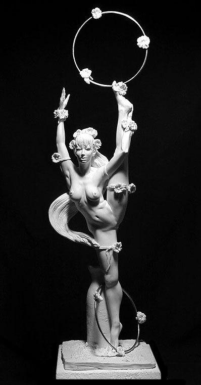 Современная скульптура.